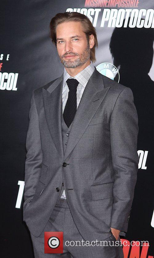 Josh Holloway and Ziegfeld Theatre 1