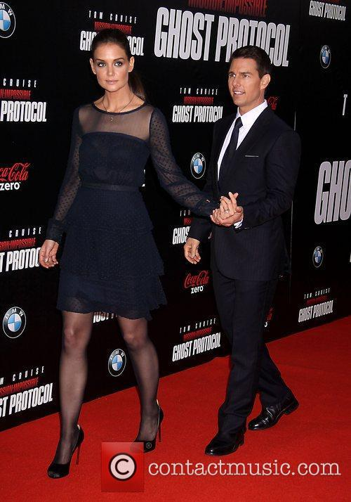 Katie Holmes, Tom Cruise and Ziegfeld Theatre 25