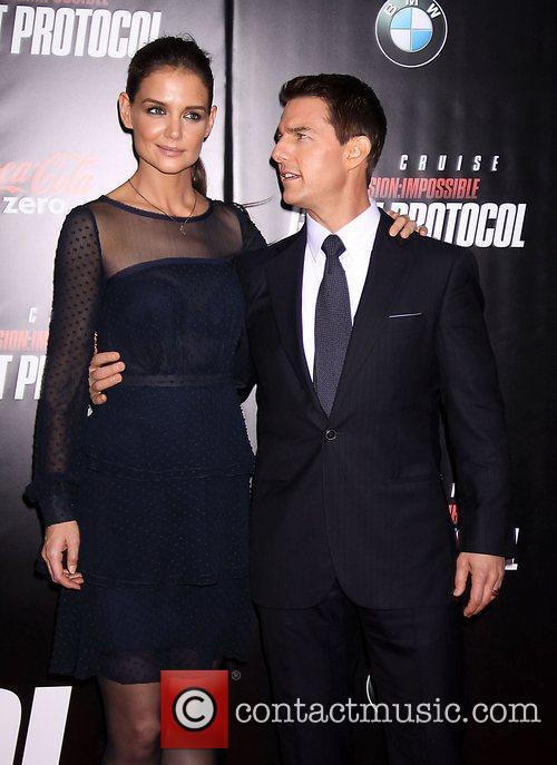 Katie Holmes, Tom Cruise and Ziegfeld Theatre 29