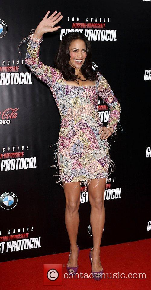 Paula Patton and Ziegfeld Theatre 18