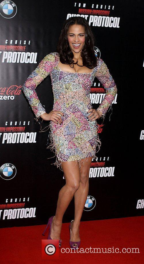 Paula Patton and Ziegfeld Theatre 17