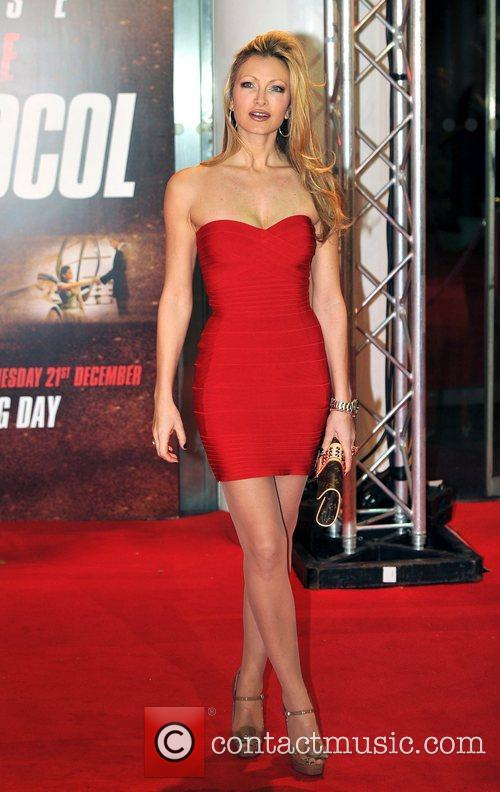 Caprice Bourret Mission Impossible: Ghost Protocol - UK...