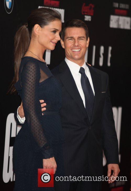 Katie Holmes, Tom Cruise and Ziegfeld Theatre 32