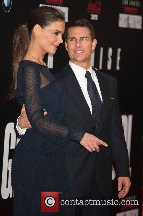 Katie Holmes, Tom Cruise and Ziegfeld Theatre 31