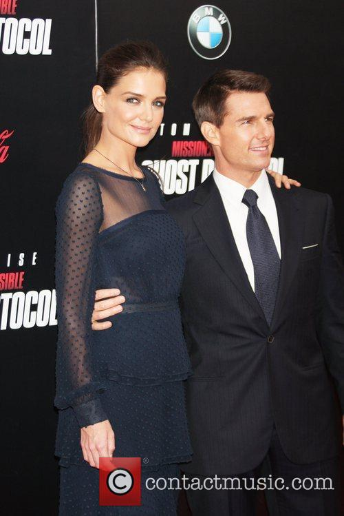 Katie Holmes, Tom Cruise and Ziegfeld Theatre 2