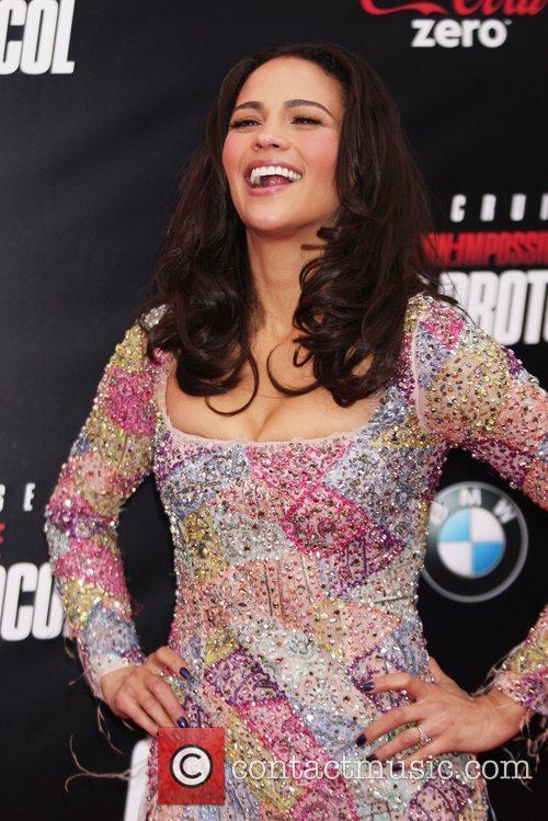 Paula Patton and Ziegfeld Theatre 3
