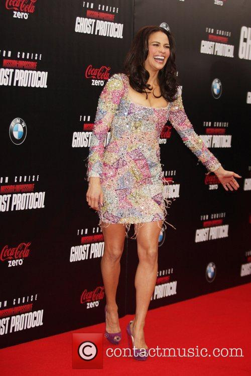 Paula Patton and Ziegfeld Theatre 4