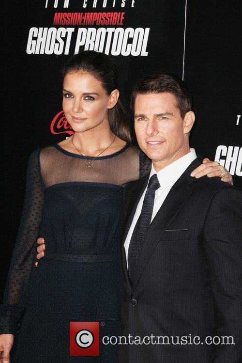 Katie Holmes, Tom Cruise and Ziegfeld Theatre 8