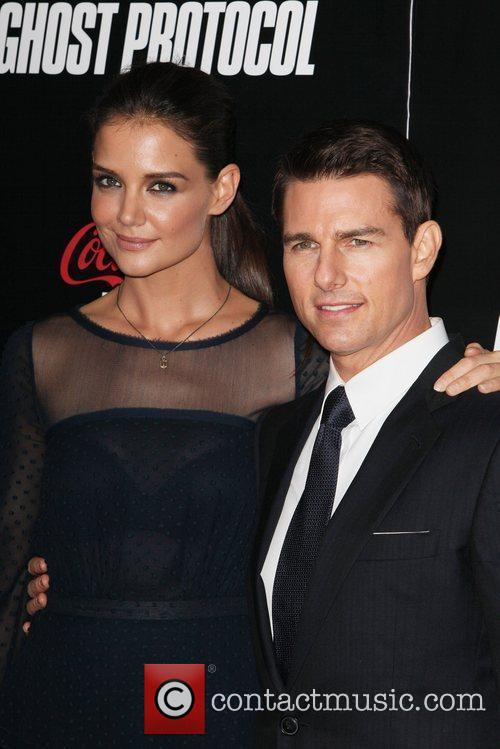 Katie Holmes, Tom Cruise and Ziegfeld Theatre 10