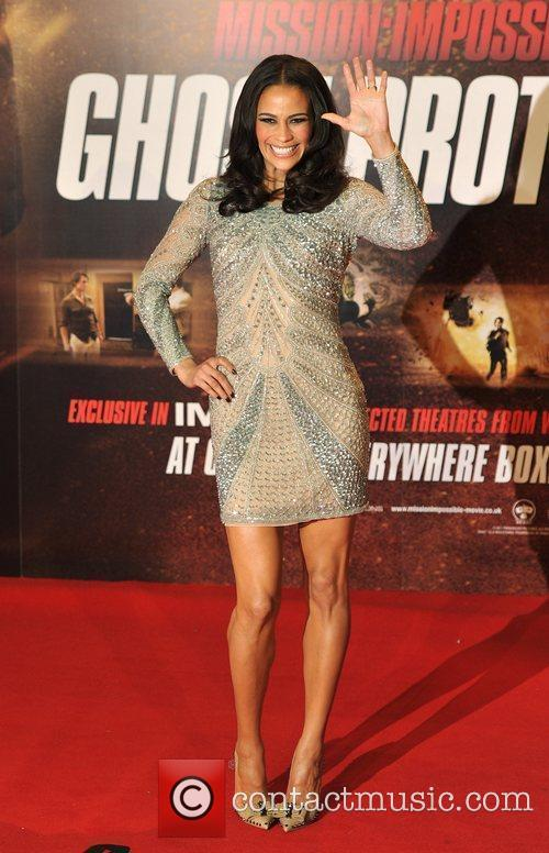 Paula Patton Mission Impossible: Ghost Protocol - UK...