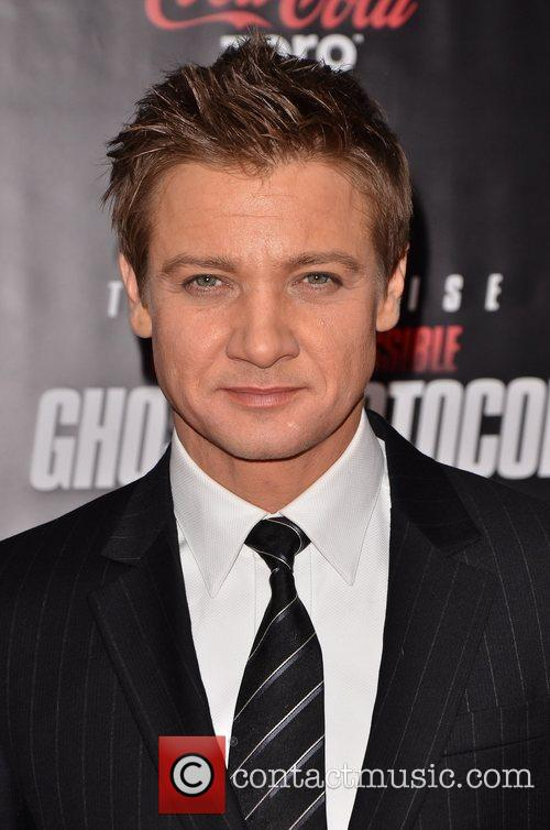 Jeremy Renner and Ziegfeld Theatre 5