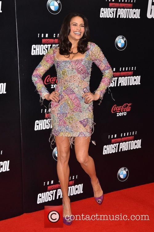 Paula Patton and Ziegfeld Theatre 6