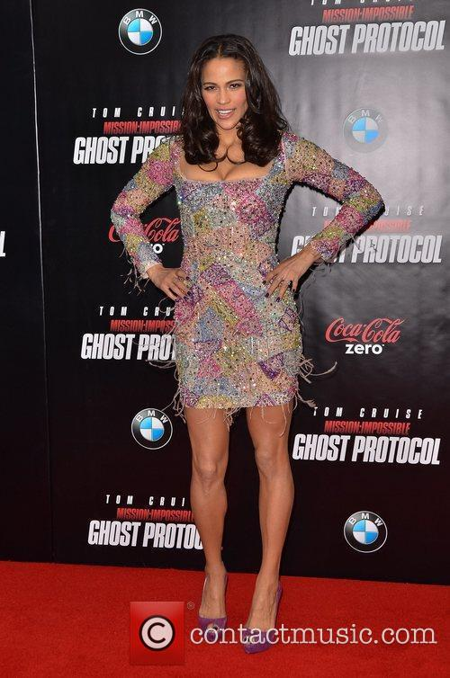 Paula Patton and Ziegfeld Theatre 7
