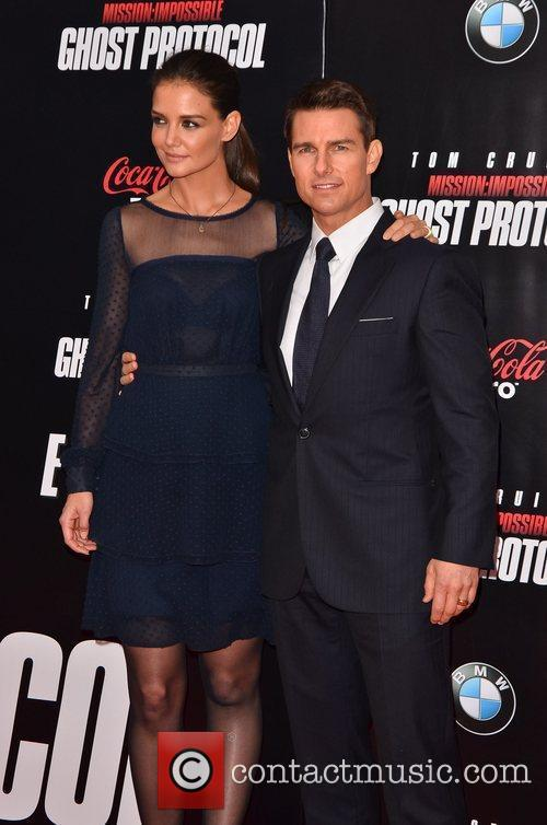 Tom Cruise, Katie Holmes and Ziegfeld Theatre 4
