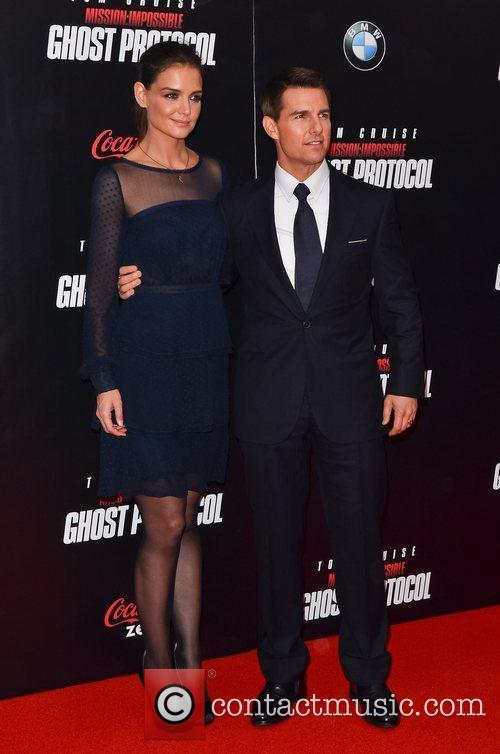 Tom Cruise, Katie Holmes and Ziegfeld Theatre 9