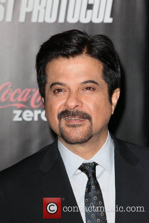 Anil Kapoor and Ziegfeld Theatre 2