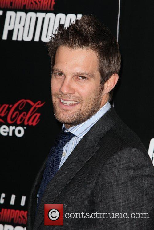 Geoff Stults and Ziegfeld Theatre 3