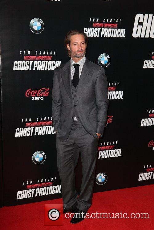 Josh Holloway and Ziegfeld Theatre 4