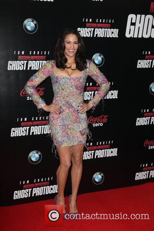 Paula Patton and Ziegfeld Theatre 8