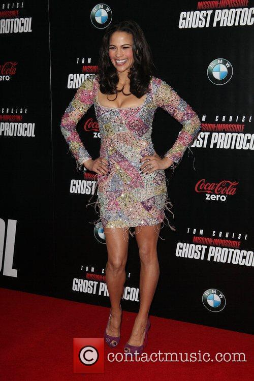 Paula Patton and Ziegfeld Theatre 9