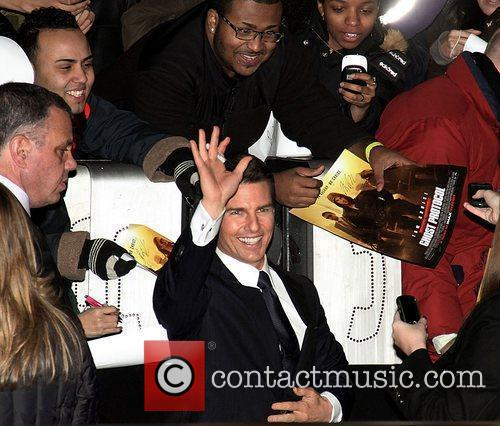 Tom Cruise and Ziegfeld Theatre 8