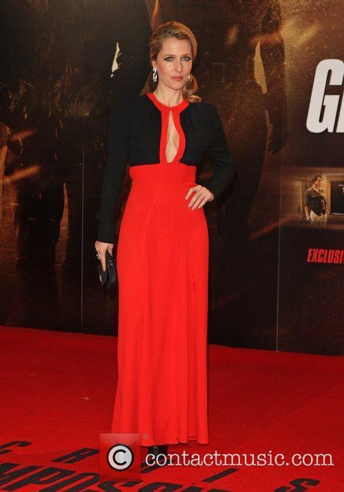 Gillian Anderson Mission: Impossible Ghost protocol premiere -...