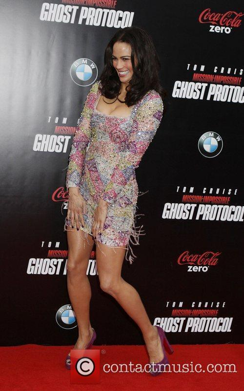 Paula Patton and Ziegfeld Theatre 11
