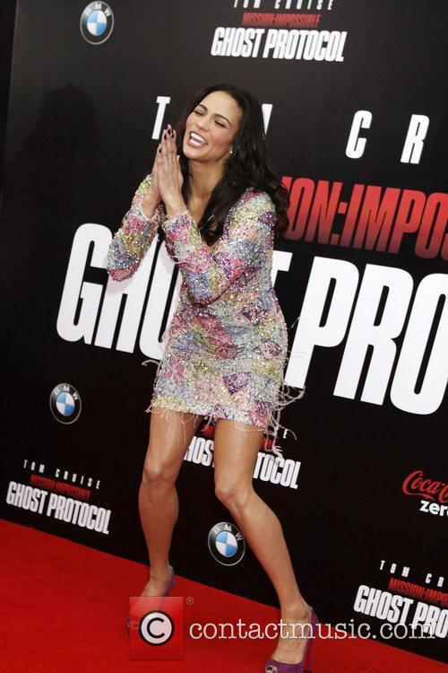 Paula Patton and Ziegfeld Theatre 12