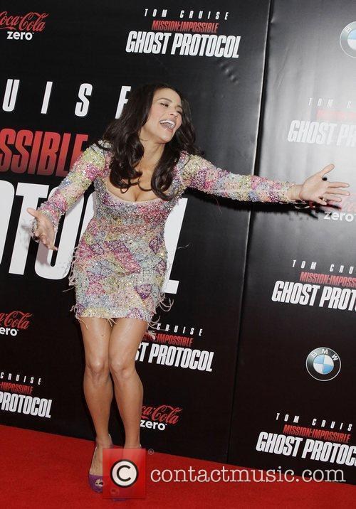 Paula Patton and Ziegfeld Theatre 10