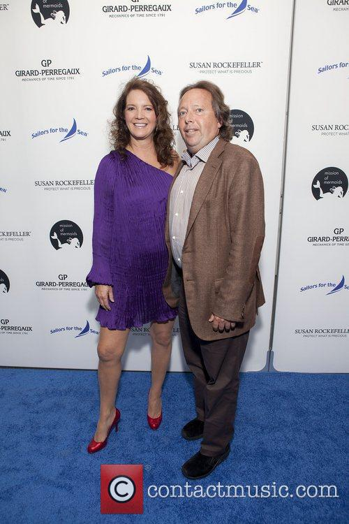 Peggy Bonapace Gelfond and Richard Gelfond at the...