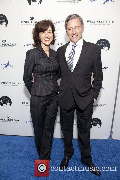 Vince Suppola and Celine Mac Donald at the...