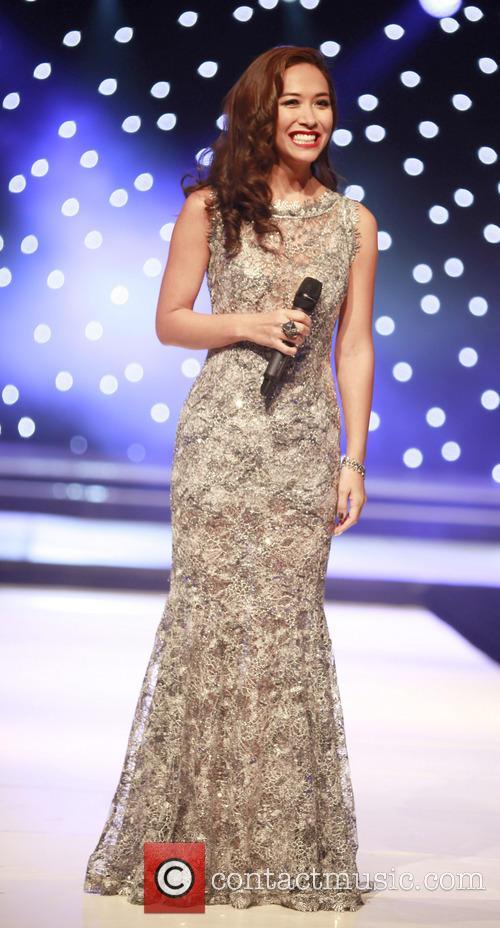 Myleene Klass hosts Mr World 2012 at the...