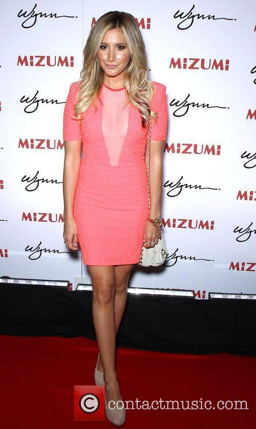 Ashley Tisdale Mizumi grand opening hosted by Steve...