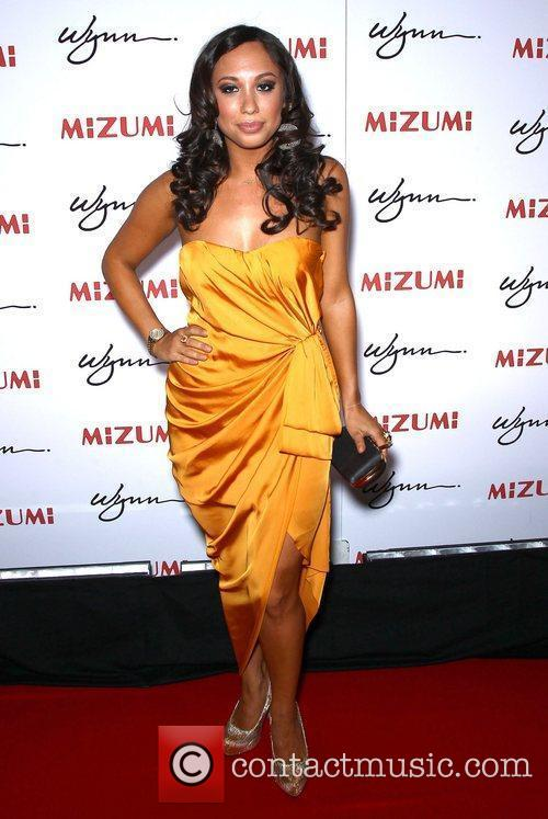 Cheryl Burke Mizumi grand opening hosted by Steve...