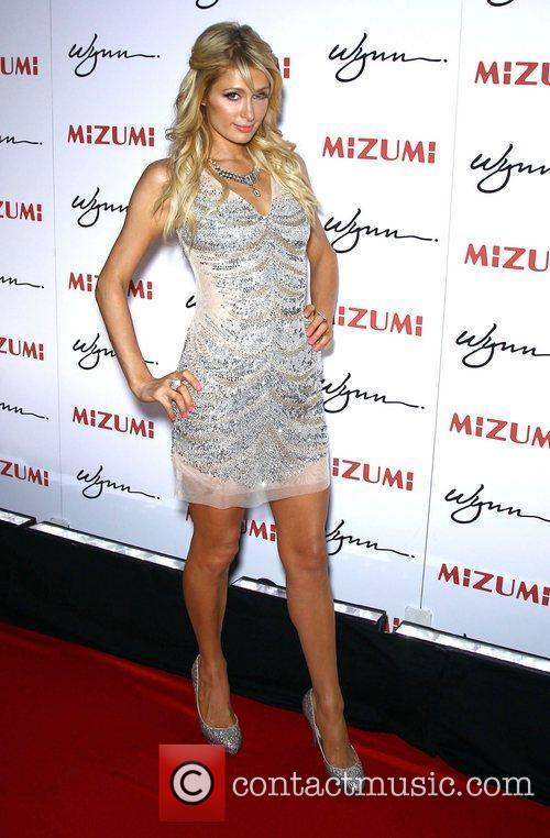Paris Hilton Mizumi grand opening hosted by Steve...