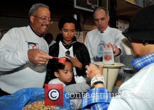 Congressman Chaka Fattah and Senator Bob Casey...