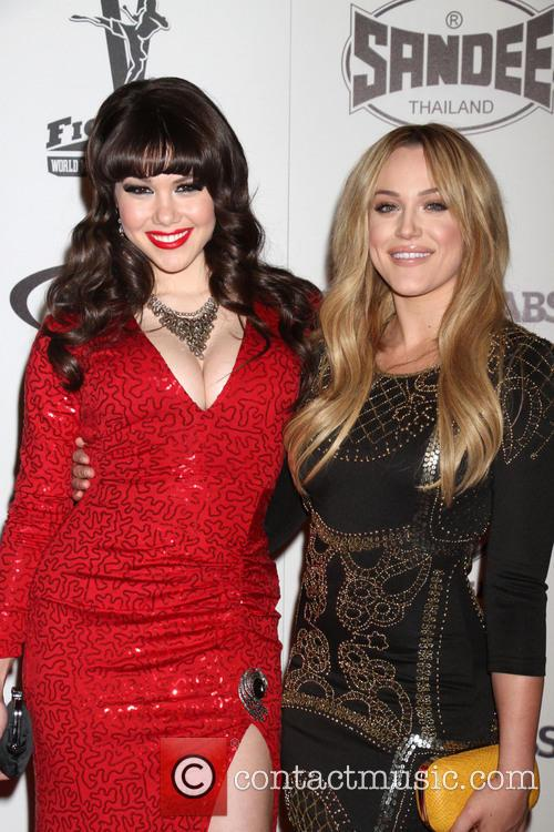 Claire Sinclair and Lacey Schwimmer 5