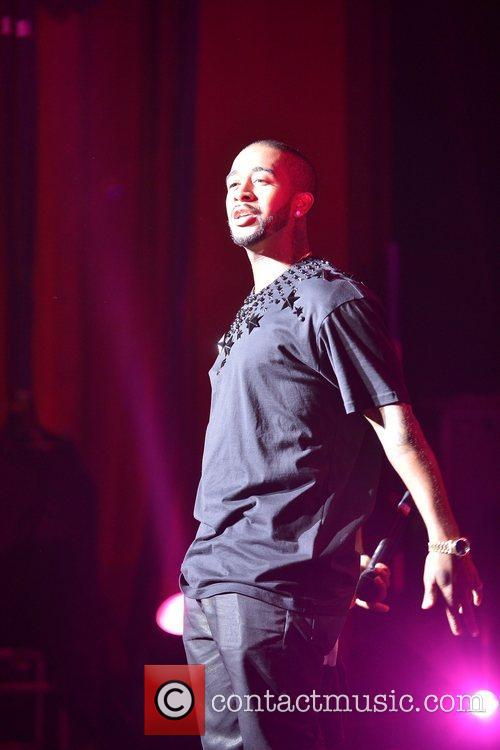 Omarion  performs during Maybach Music Group (MMG)...