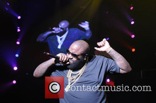 Performs during Maybach Music Group (MMG) Tour at...