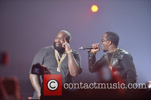 Sean, P. Diddy Combs and Rick Ross 5