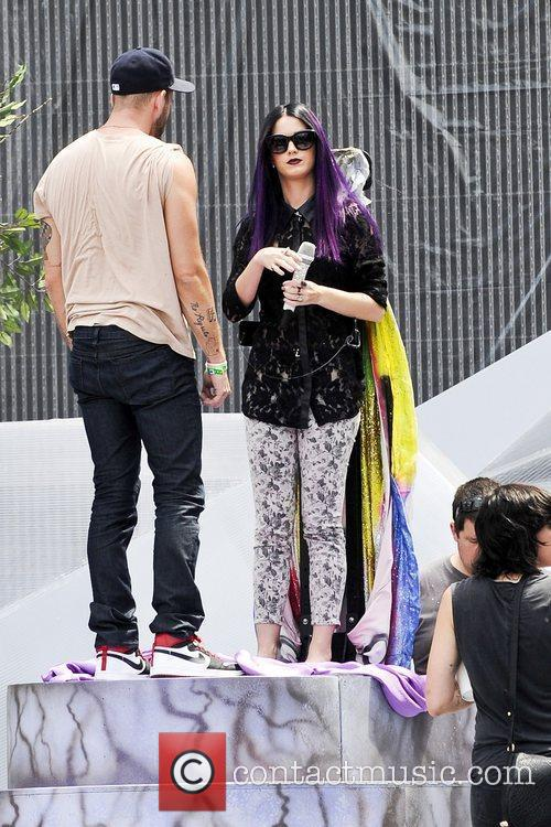 Katy Perry and Muchmusic Video Awards
