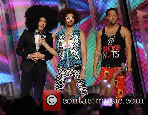 Perez Hilton, Redfoo and SkyBlu  MMVA 2012...