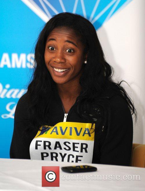 Shelly-Ann Fraser-Pryce The Aviva Birmingham Grand Prix photocall...
