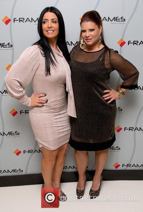 Karen Gravano; Ramona Rizzo VH1's 'Mob Wives' season...