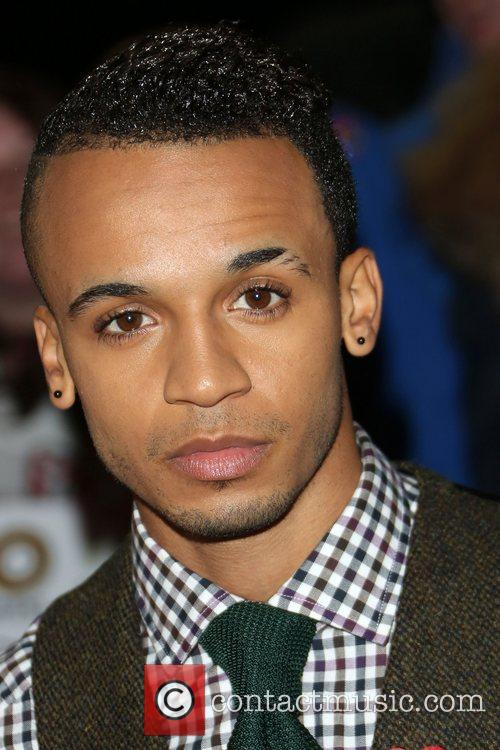 Aston Merrygold of JLS The MOBO awards 2012...