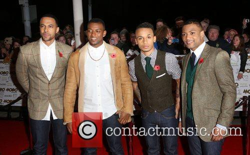 Marvin Humes, Oritse William, Aston Merrygold, Jonathan, Gill and Mobo 2