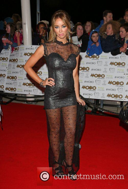 Lauren Pope and Mobo 1