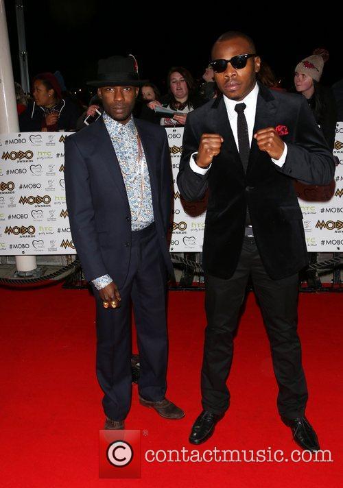 Kojo and Clement Marfo The MOBO awards 2012...
