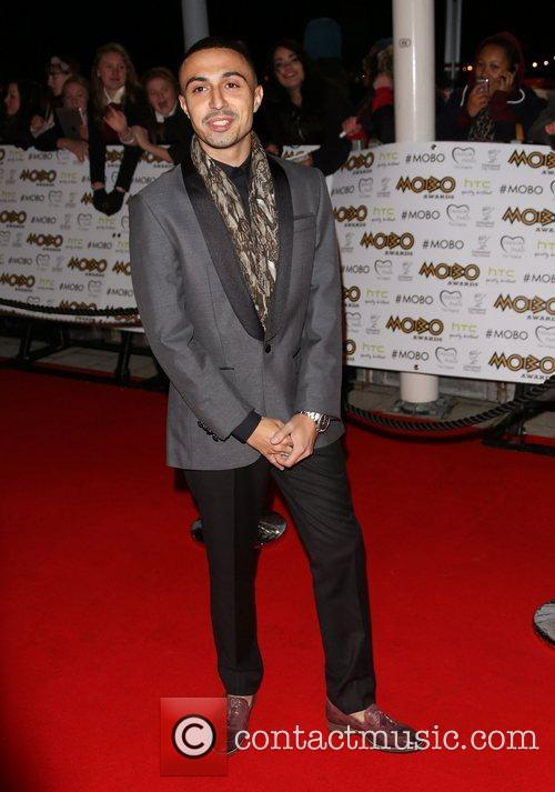 Adam Deacon The MOBO awards 2012 held at...