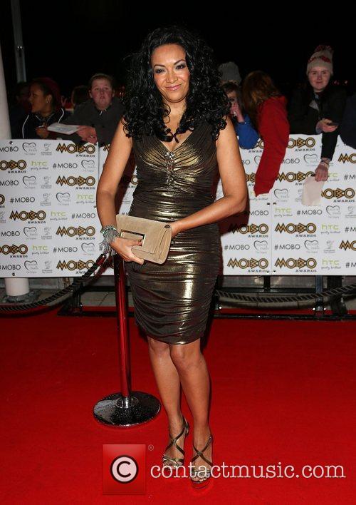Kanya King The MOBO awards 2012 held at...